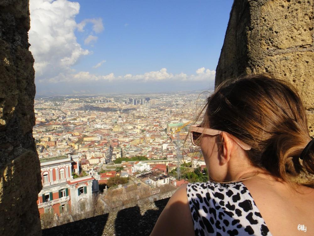 Vue sur les hauteurs de Naples©lespetitsvoyagesdelilly