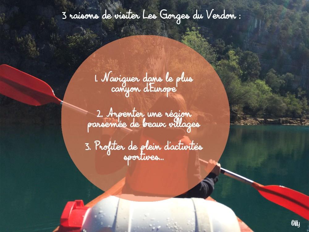 Les Gorges du Verdon_3 raisons de visiter