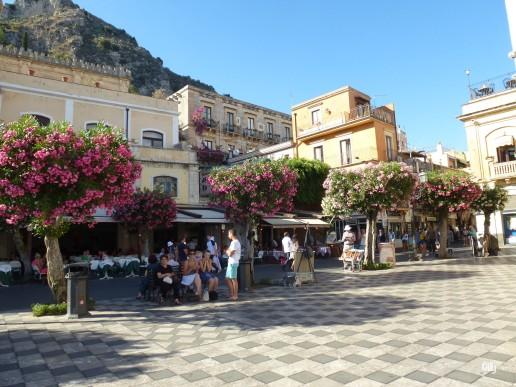Taormine - place centrale