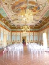 Salle à manger du palace