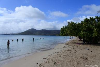 Pointe Marin - tout au bout le Club Med