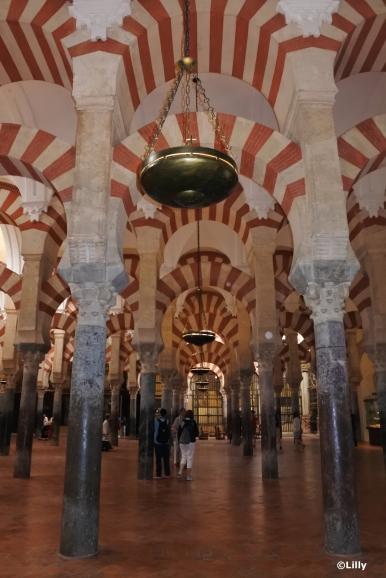 Mezquita - intérieur