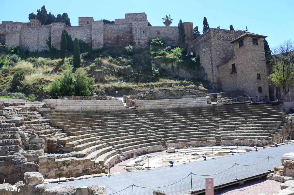 Malaga_théâtre romain©lespetitsvoyagesdelilly