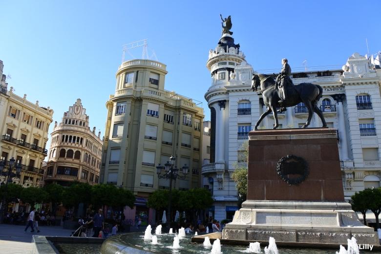Cordoba_Plaza de las tendillas©lespetitsvoyagesdelilly