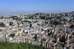 Vue de l'Alcazaba
