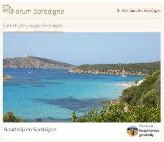 Forum Sardaigne