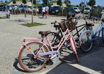 Le beau vélo rose - en vente uniquement