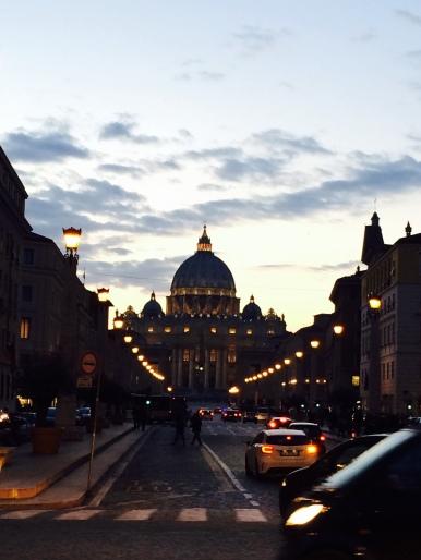 Vatican de nuit