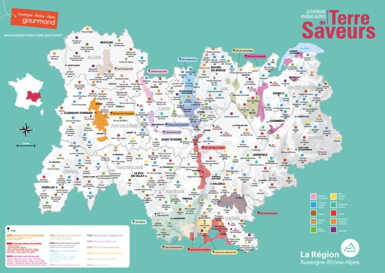 Rhone Alpes_Terre de saveurs